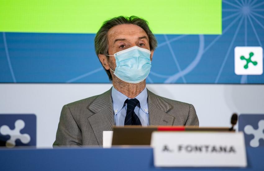 Lombardia: Fontana su caos vaccini, 'Critiche per metterci in cattiva luce'