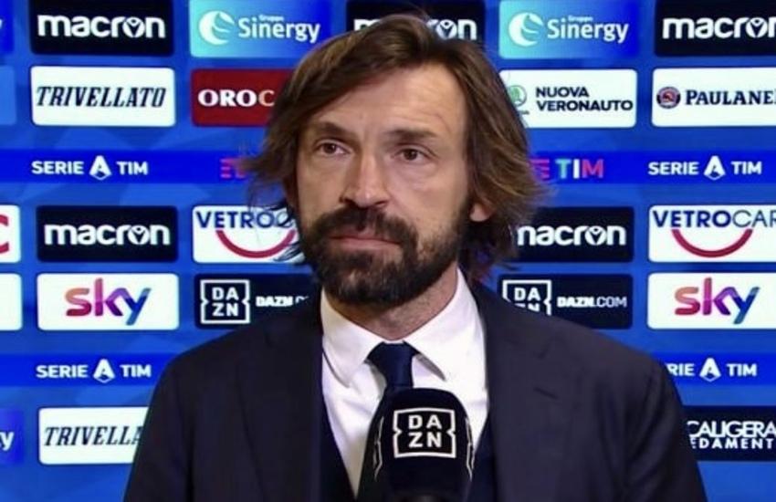 Juventus: Pirlo, 'Inter fortunata, nazionali restano a casa'