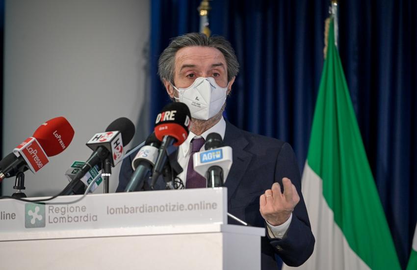 Lombardia: Covid, Fontana 'Varianti colpiscono soprattutto i giovani'