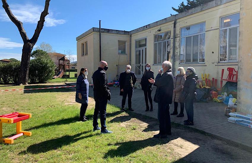 """Futuro della scuola d'infanzia """"Pian di Rota"""", Sindaco e Vicesindaca hanno incontrato i residenti della Cigna"""