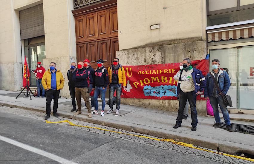 Presidio delle Rsu a Roma sotto il Mise