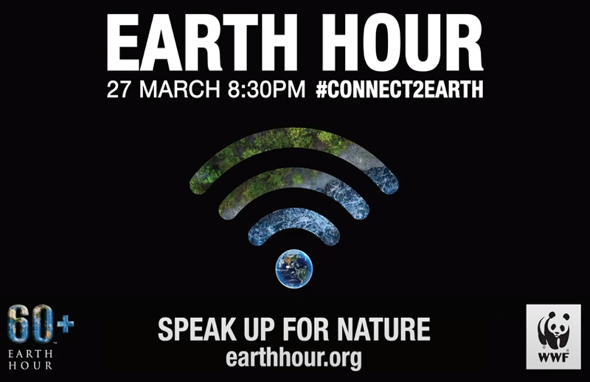 Wwf, Earth hour 2021: richiesta adesione all'evento globale