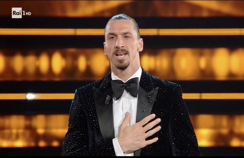 Sanremo 2021: Ibrahimovic, 'Grazie Italia, la mia seconda casa'