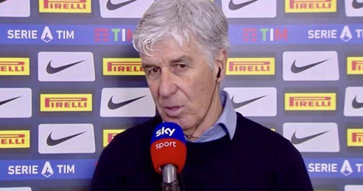 Atalanta: Gasperini, 'Ko che ci rafforza. È l'anno dell'Inter'