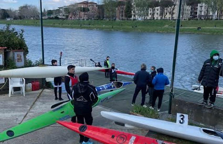 Cinque Titoli Regionali per il Canoa Club Livorno