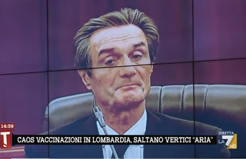 Lombardia: Caos vaccini, Damilano 'Parole di Fontana aria fritta' – Video