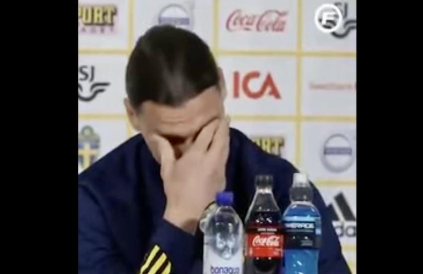 Video – Milan: Ibrahimovic parla del figlio Vincent e si commuove