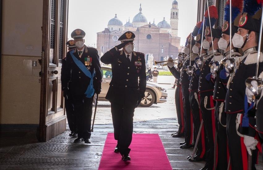 Cambio al comando interregionale dei carabinieri