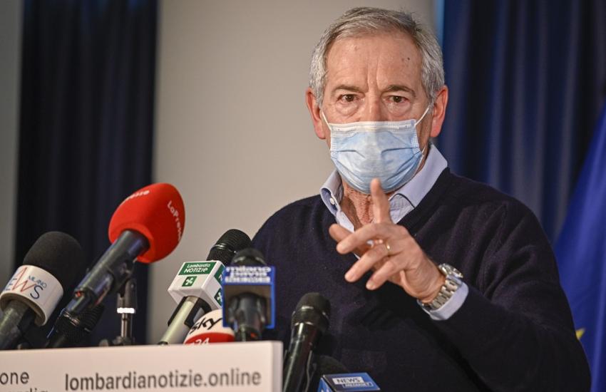 Lombardia: Covid, Bertolaso 'Viaggiamo a una media di 20/23mila vaccini al giorno'