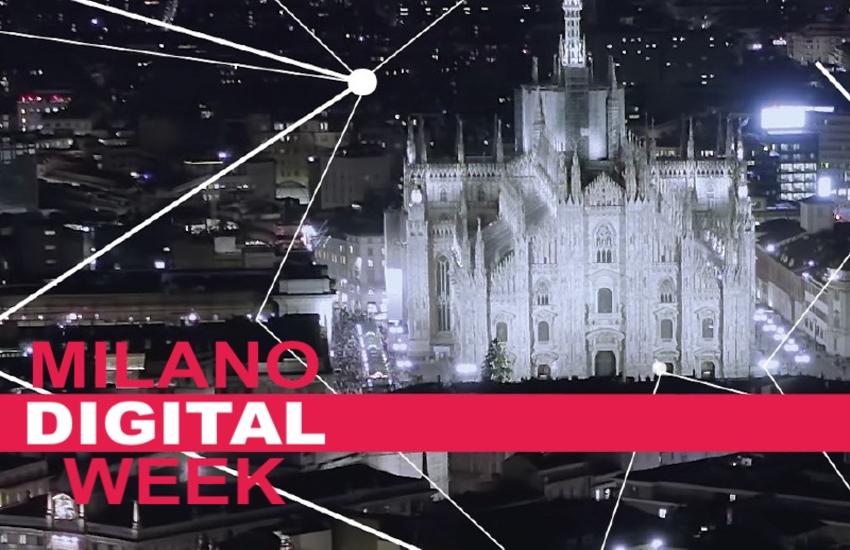 Milano Digital Week: Mercoledì 17 marzo in streaming l'evento di apertura