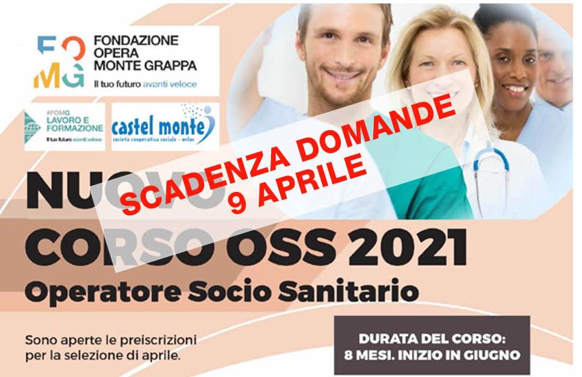 Fonte, termina il 9 aprile la possibilità di iscriversi al corso Operatore Socio Sanitario 2021