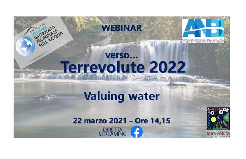 Bonifiche, Anbi Veneto, iniziativa per la Giornata mondiale dell'acqua