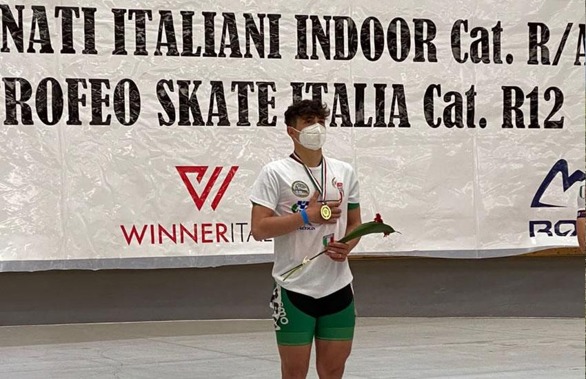 ADHP GRUPPO COSMO NOALE: DANIELE DI STEFANO VINCE IL TITOLO ITALIANO 5.000 MT AI CAMPIONATI INDOOR DI PESCARA