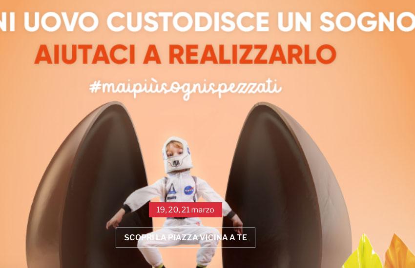 Padova, uova di Pasqua AIL: 19, 20 e 21 marzo nelle piazze nonostante la zona rossa