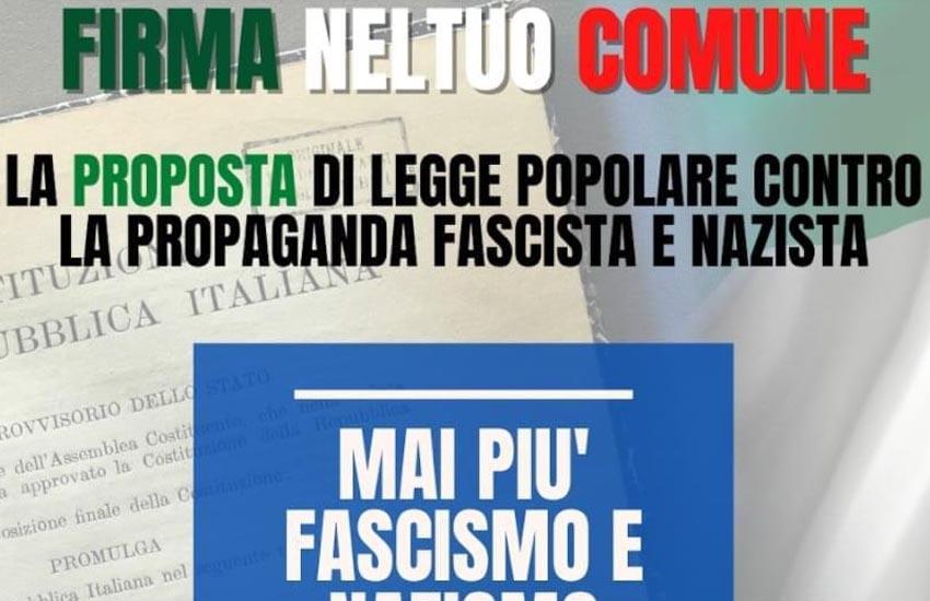 San Biagio di Callalta, circolo Pd: firme contro la propaganda fascista e nazista