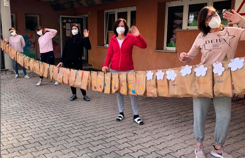 Vittorio Veneto nido comunale, regali per i bimbi e abbonate le rette per i giorni di chiusura