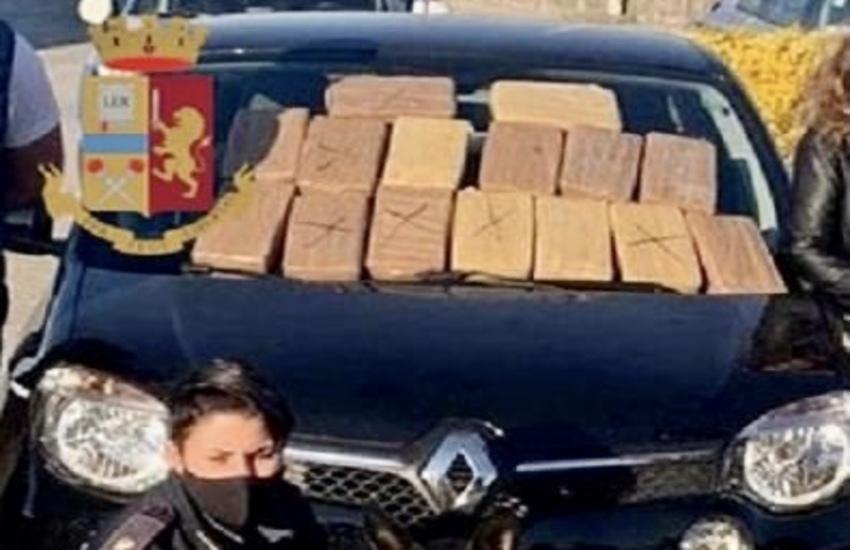 Milano: Polizia sequestra 18 chili di cocaina, due arresti