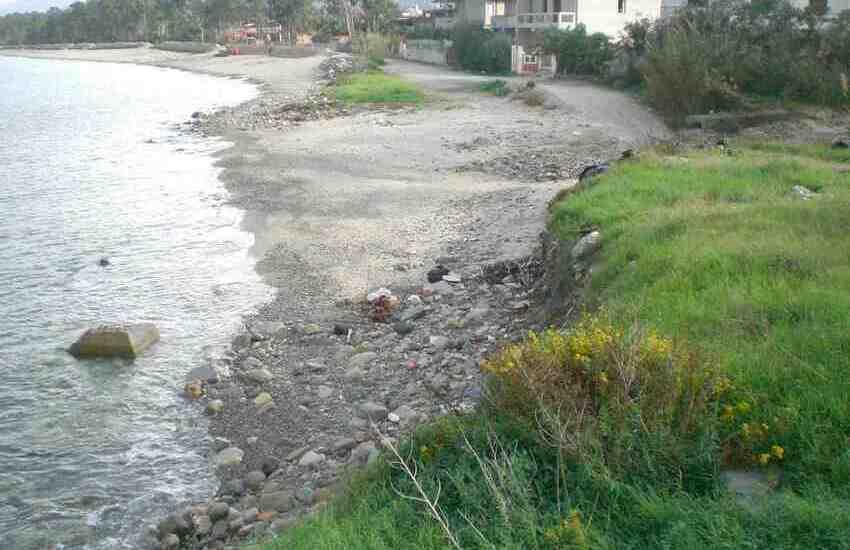 Furnari, erosione costiera: affidata la progettazione delle opere di difesa del litorale