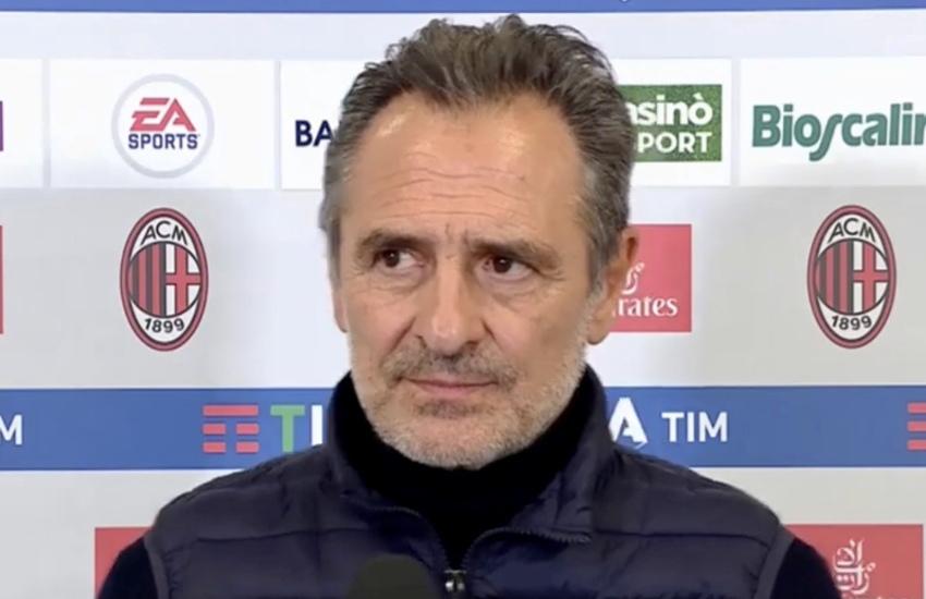 Fiorentina: Prandelli, 'Mi aspetto un Milan arrabbiato'