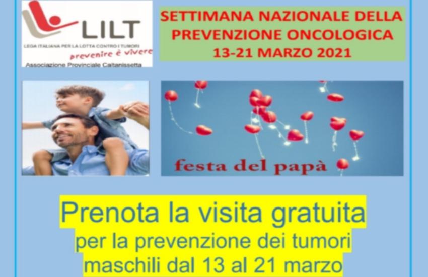 Festa del Papà, LILT: settimana nazionale della prevenzione oncologica