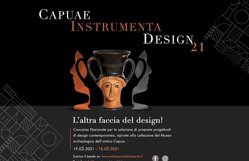 Capuae instrumenta design 2021: il concorso nazionale dell'ordine degli architetti