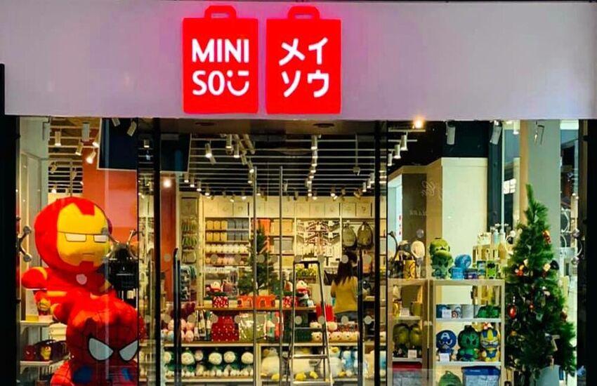 Miniso, a Roma il primo punto vendita italiano