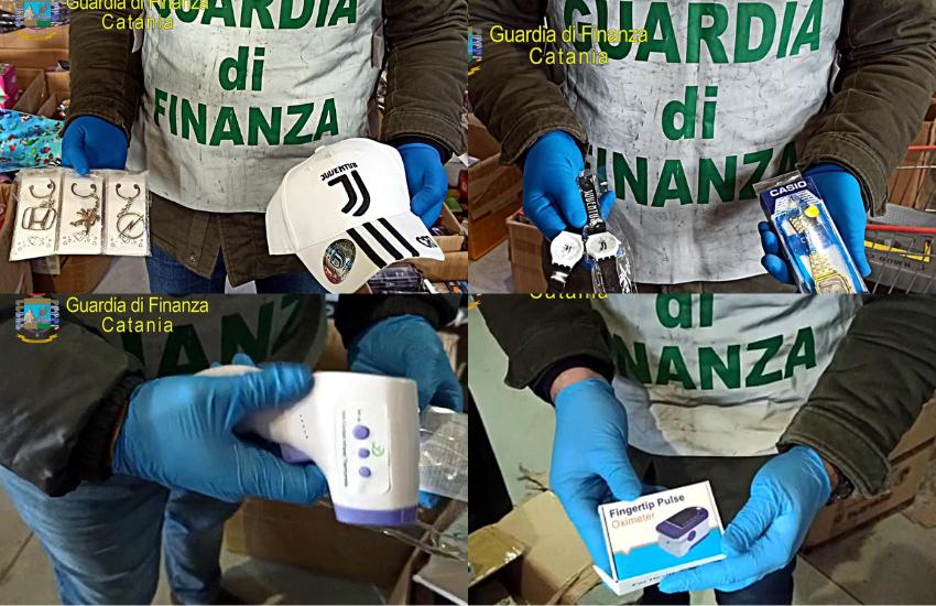 Misterbianco, sequestrati 300.699 giocattoli contraffatti e dispositivi medico/sanitari insicuri. Denunciato cittadino cinese