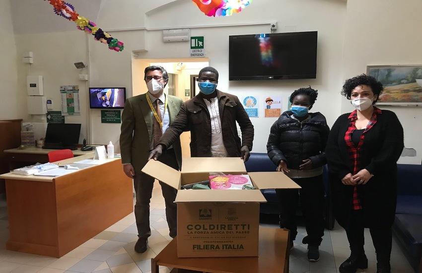 COLDIRETTI LAZIO PORTA IN TAVOLA LA SOLIDARIETA' A PASQUA CON PRODOTTI MADE IN ITALY PER OLTRE 4 MILA FAMIGLIE IN DIFFICOLTA'