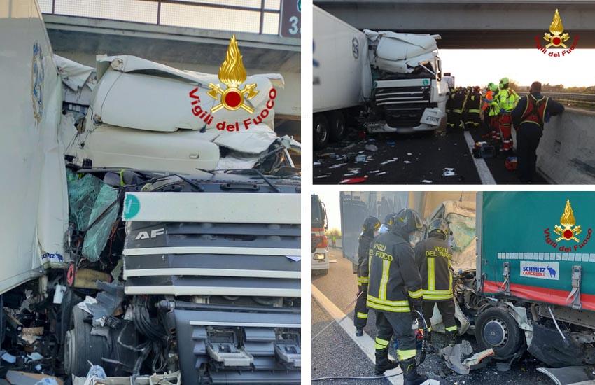 Doppio incidente in A4: due morti e un ferito tra i caselli di San Donà e Cessalto