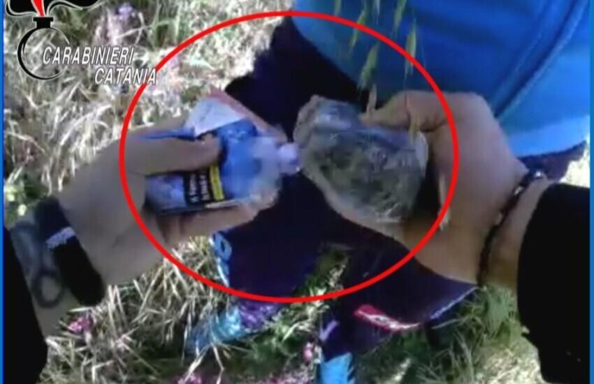 via Fratelli Gualandi , spacciatore acciuffato nelle campagne circostanti con la droga negli slip