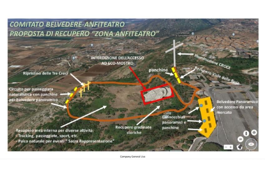 Sezze, dal comitato Belvedere Anfiteatro il progetto per il recupero dell'area