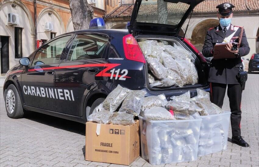 Controlli anti-Covid 19 nel bolognese: 4 arresti e 37 kg di droga sequestrati