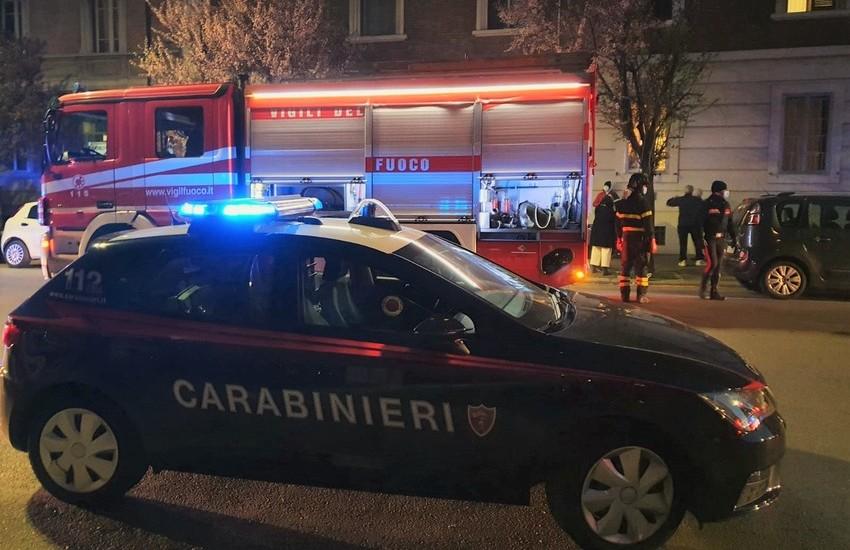Bologna: incendio in un condominio in via Mazza