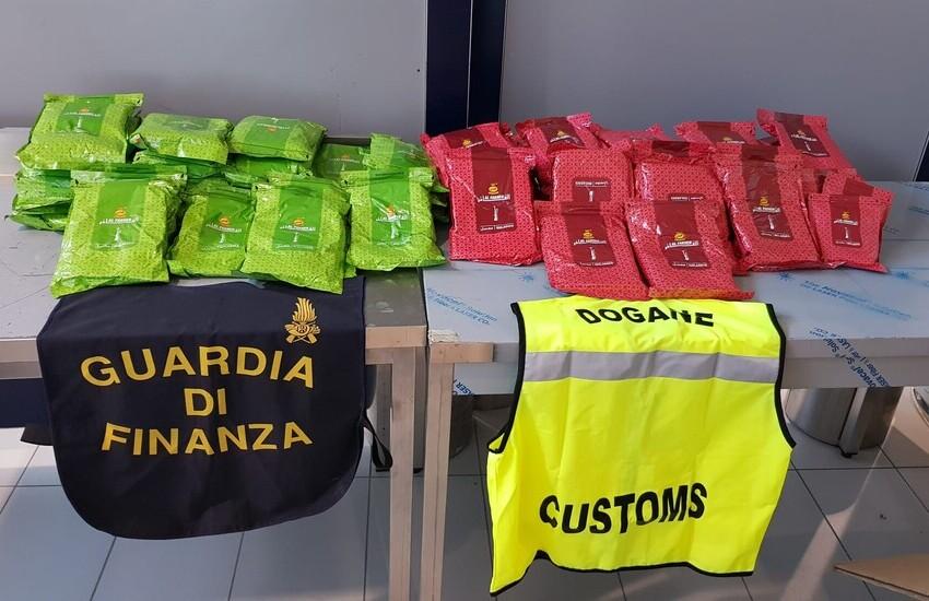 Bologna: sequestro di 64 kg di tabacco per narghilè