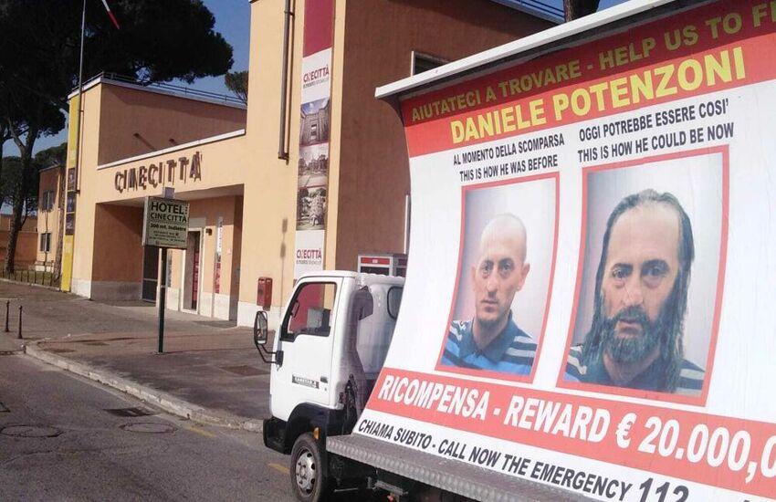 Roma cerca ancora Daniele Potenzoni, scomparso nel 2015