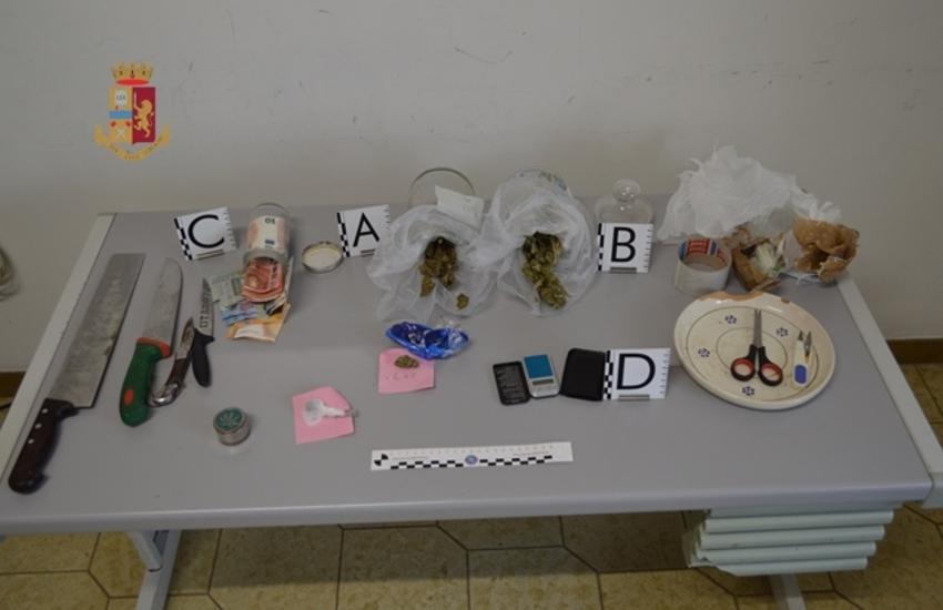 Laboratorio per il confezionamento della marijuana. Arrestato per spaccio 20enne di Galatina