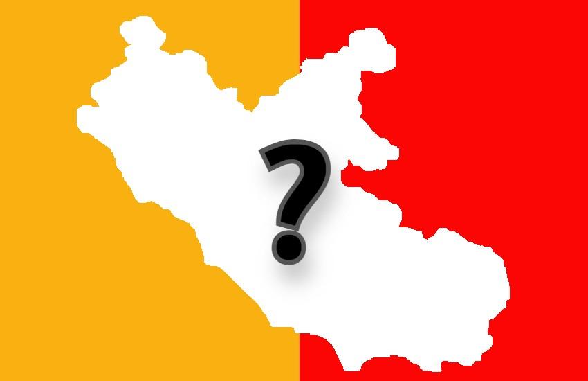 Il Lazio verso il ritorno in zona arancione: incidenza a 214 e indice RT intorno a uno