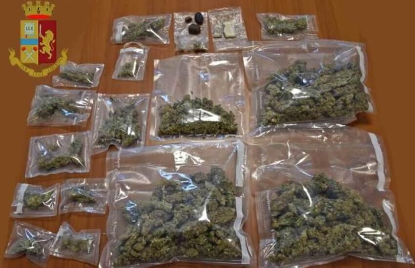 Scoperti circa 400 grammi di marijuana in casa. Arrestato per spaccio 52enne di Gallipoli