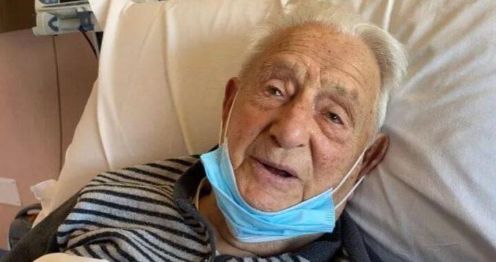 Dopo il covid, i problemi di cuore, ma lui non molla: la storia di nonno Aldo di Formia, 103 anni