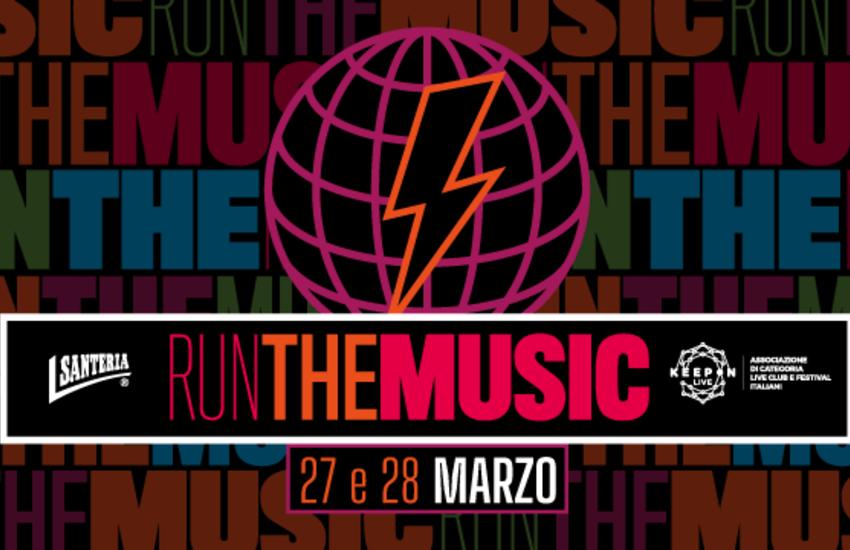 RUN THE MUSIC: una corsa virtuale amatoriale per sostenere i luoghi della musica e i festival