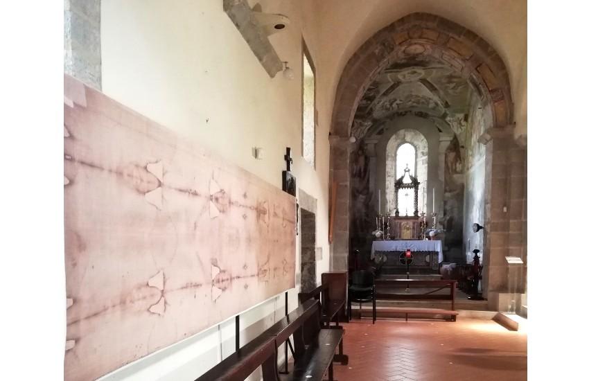 Una copia della Sacra Sindone sarà esposta a Valvisciolo fino al giorno di Pasqua