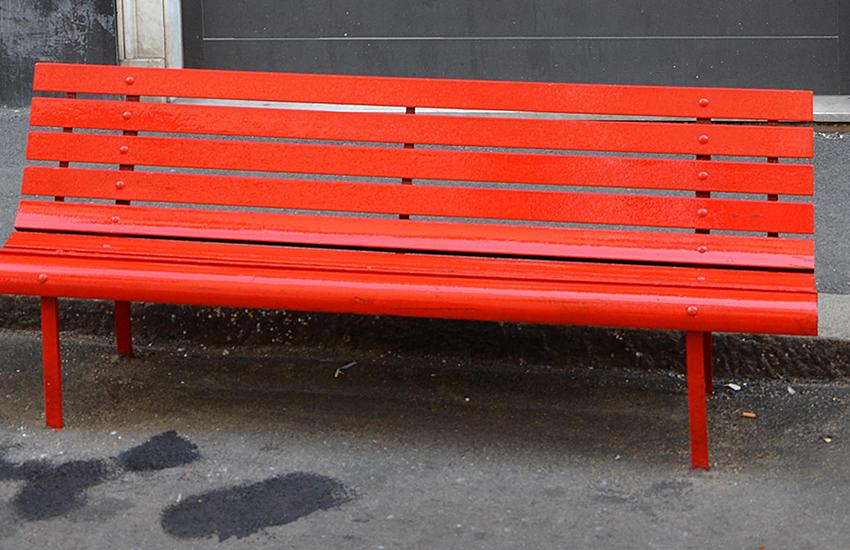 Genova, una panchina rossa per Clara: ecco dove