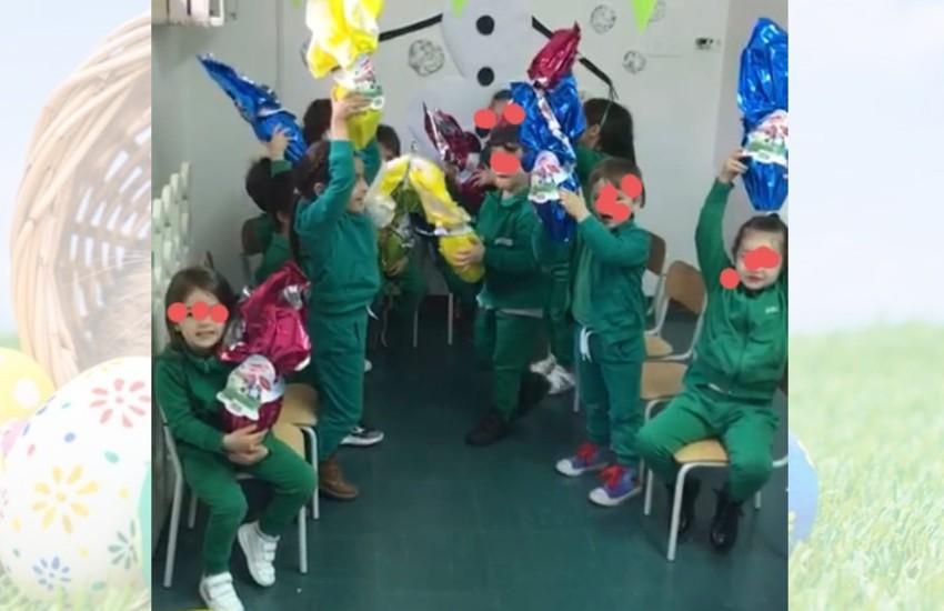 Consegna speciale per i bambini nelle scuole di Sezze