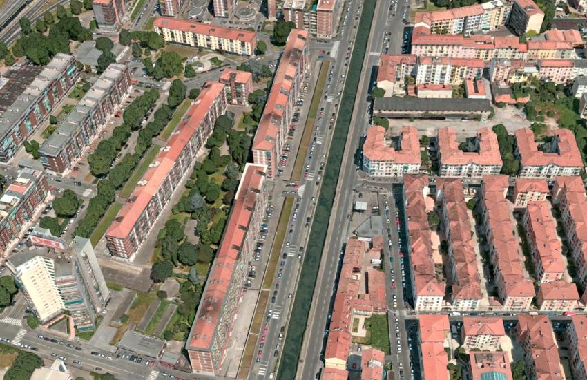 Milano: Via Ascanio Sforza sarà pedonale