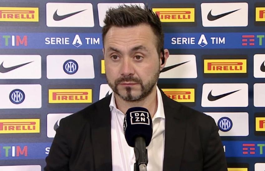 De Zerbi: 'Superlega colpo di stato. E col Milan non voglio giocare'
