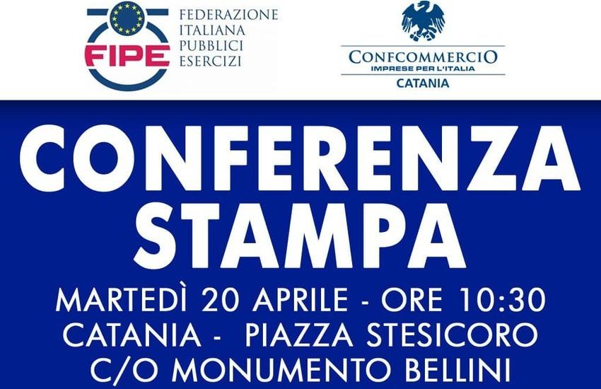 """""""Aprire per non chiudere"""", ristoratori Fipe in Piazza Stesicoro domani alle 10,30"""