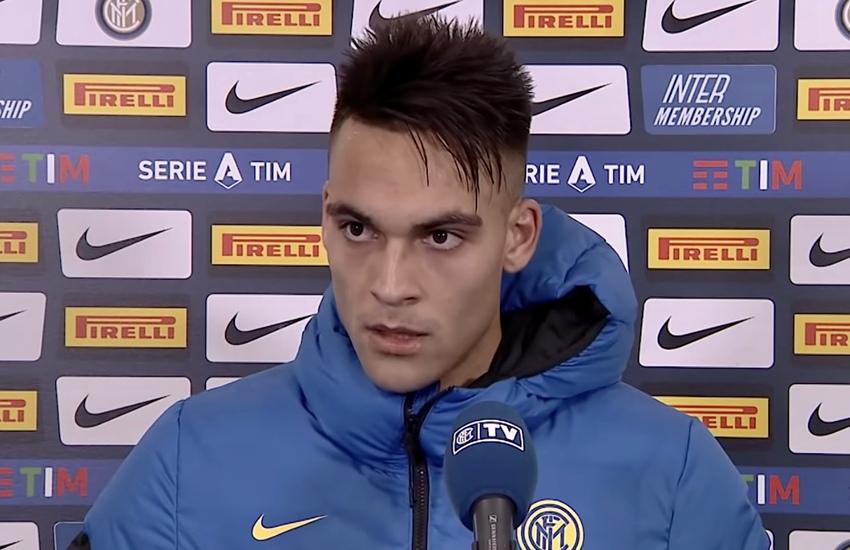 Inter: Lautaro, 'Conte mi ha fatto crescere tanto'