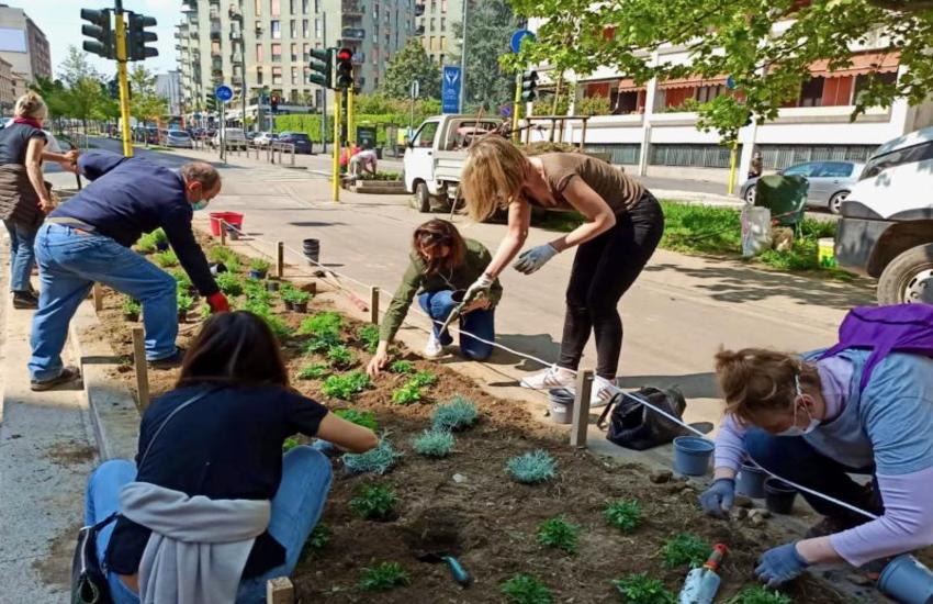 Milano: Cura del verde ed essenze per farfalle, patto per Corvetto