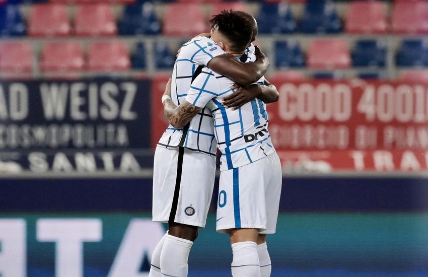Inter: Espugnata anche Bologna, Milan a -8