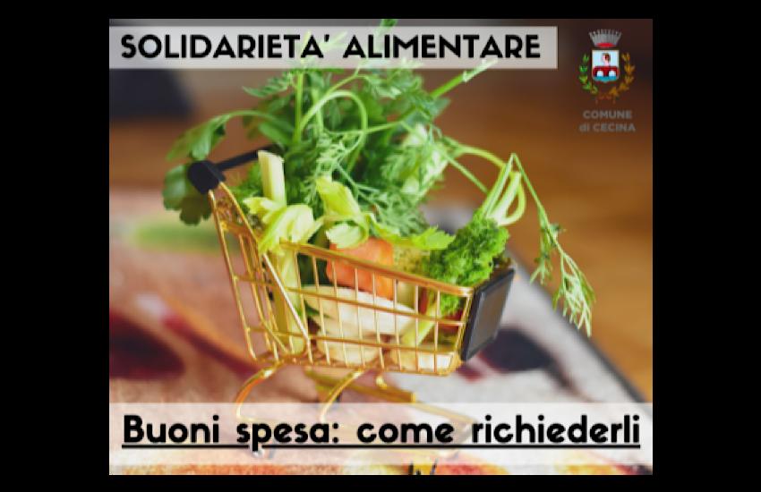 Cecina solidarietà alimentare: aperta una nuova tranche